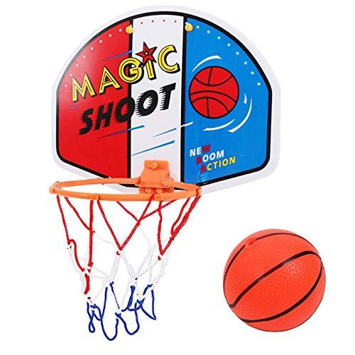 CYSHAKE Backboard da Tavolo da Basket Regolabile per pallo da Basket Rim Mini Pallacanestro per Bambini Bambini Bambini Gioco Nuovo