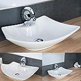 Design Keramik Waschschale Aufsatzwaschbecken Waschtisch Badezimmer Waschplatz KR759