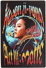 YG Entertainment g dragón kwonjiyong acto 3: Postal de madera motte un tamaño tipo 1