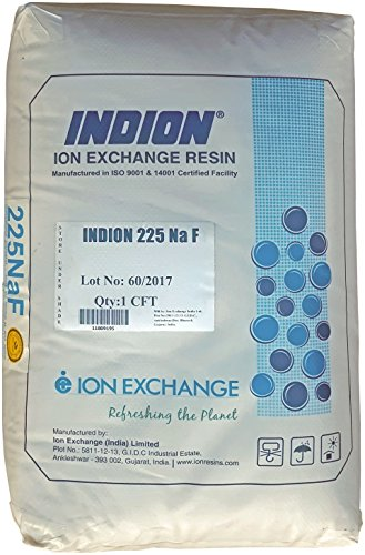 One (1) Cubic Foot, 50 lbs, single bag, Water Softener Ion-exchange Resin 8% Crosslinked