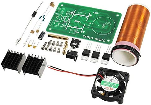 LanGuShi CC520 DIY Miniskirt Music Coil Loudsp Max 48% OFF Kit Tesla's All stores are sold Field