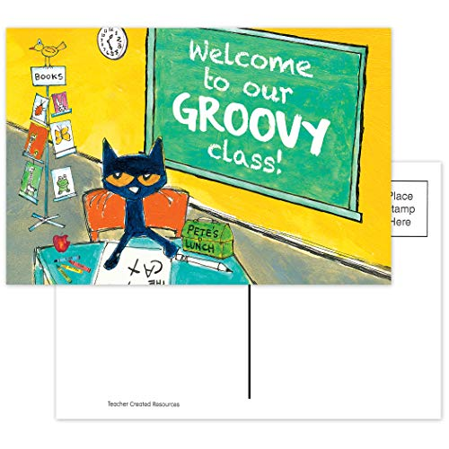 Pete The Cat Welcome to Our Groovy Class Postcards