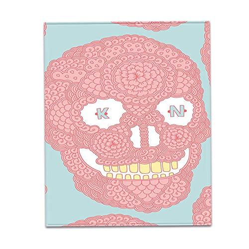 huobeibei Manta Impresión Digital 3D Manta de Lana de algodón Manta de la Cubierta del sofá Manta súper Suave y cómoda Adecuada para la Siesta de la Oficina del sofá 150 * 130 cm F