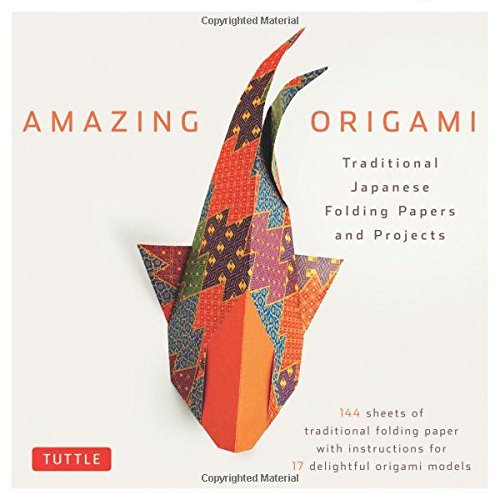 Amazing Origami: Traditional Japanese Folding Papers and Projects: Easy Origami for Beginners Kit: Downloadable Origami Papers Included (English Edition)
