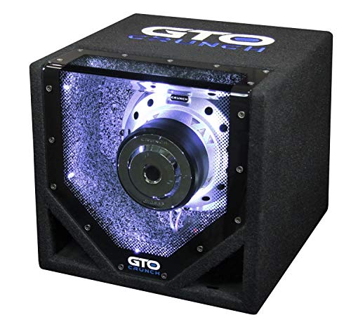 Crunch GTO-8BP auto subwoofer passief 400W