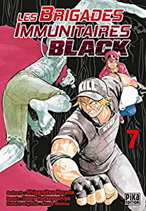 Les Brigades Immunitaires Black Edition simple Tome 7