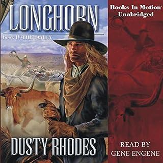 Longhorn IV: The Family audiobook cover art
