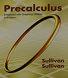 By Michael Sullivan Precalculus Enhanced with Graphing Utilities Plus MathXL (6 months) (6th Sixth Edition) [Hardcover]