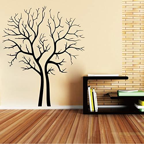 BailongXiao Lindo árbol decoración Pegatina Impermeable decoración del hogar bebé niños decoración de la habitación decoración Accesorios 64x78cm