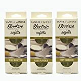 Yankee Candle - 3x Baby Powder Electric Plug-In Refill Twin Pack (6 Refills In Total) by Yankee Candle