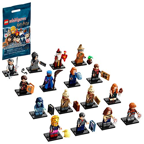 LEGO Minifigures Harry Potter Series 2 (71028), 1 of 16 to Collect, Great for Kids who Love Collectibles and Want to be Part of The Action with Harry, Hermione Granger and Ron Weasley, New 2020
