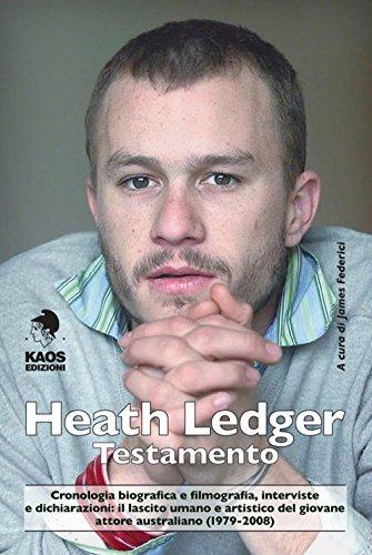 Heath Ledger. Testamento