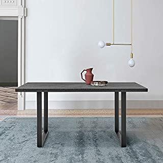 Armen Living Fenton Dining Table Top Base, 71, Charcoal/Black (B092HGTBY9) | Amazon price tracker / tracking, Amazon price history charts, Amazon price watches, Amazon price drop alerts