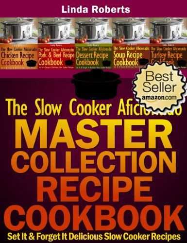 The Slow Cooker Aficionado Master Collection Recipe Cookbook (The Slow Cooker Aficionado Recipe Cookbooks 6) (English Edition)