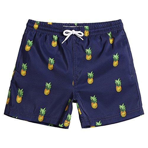 MaaMgic Uomo Costume da Bagno Nuoto Calzoncini Retro Asciugatura Veloce per Spiaggia Mare Piscina Sport Slip Pantaloncini Calzoncini