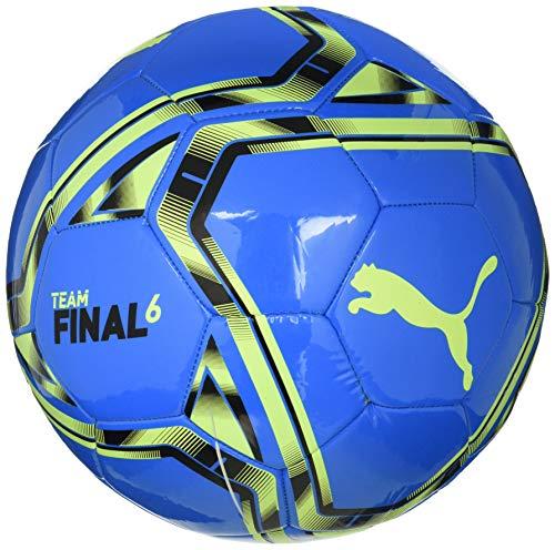 Puma Unisexs teamFINAL 21.6 MS Ball Training, Nrgy Blue-Yellow Alert, 5