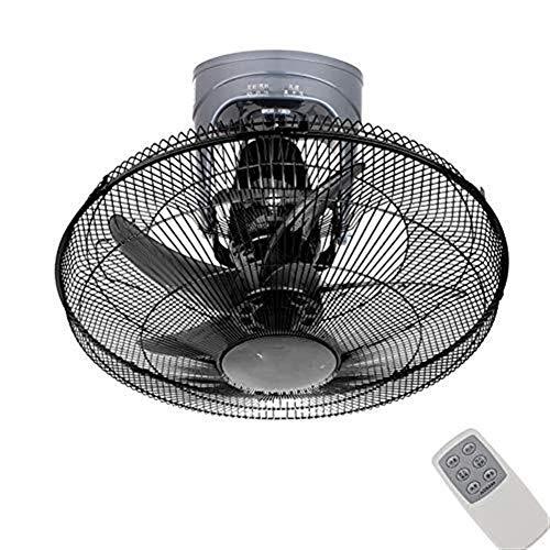 FS Fan plafondventilator, 360 graden afstandsbediening, voor het schudden van het geluid van de plafondventilator, zwart