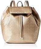 Armani Exchange A|X Damen Backpack Rucksack, gold, Einheitsgröße