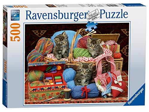 Ravensburger Puzzle 14785 - Flauschiges Vergnügen - 500 Teile