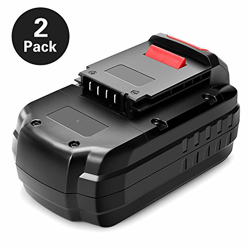 OFPOW 3.0Ah 2 Pack 18V NiCd Replacement Battery for Porter Cable 18V Battery PC18B, PC18BL, PCC489N, PCMVC, PCXMVC, Replacement for 18 Volt Porter Cable Battery