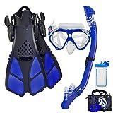 Aisrida Kids Snorkeling Set Children Mask Fin...