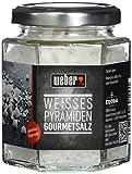 Weber Weißes Pyramiden Gourmet Salz, 1er Pack (1 x 80 g)