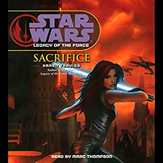 Page de couverture de Star Wars: Legacy of the Force #5: Sacrifice