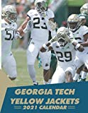Georgia Tech Yellow Jackets 2021 Calendar: Football team Georgia Tech Yellow Jackets