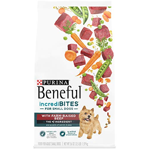 Purina Beneful Small Breed Dry Dog Food, IncrediBites With Real Chicken For Pugs