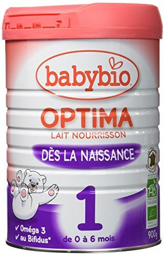 Babybio Optima 1 Lait Nourrisson Bio 0-6 Mois 900...