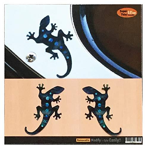 potente comercial incrustaciones para guitarra pequeña