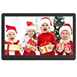 Atatat Digital Photo Frame 17.3 Inch IPS Screen Motion Sensor 1920x1080 High Resolution, Digital Picture Frame Support 1080P Video/Music/Slide Show/Continue Playback/Adjustable Brightness/Auto Rotate