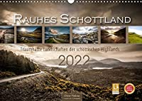 Rauhes Schottland (Wandkalender 2022 DIN A3 quer): Rauhes Schottland in traumhaften Landschaften jeden Monat neu erleben. Wasserfaelle, Burgen und Seen froemen das Bild der schottischen Highlands. (Monatskalender, 14 Seiten )