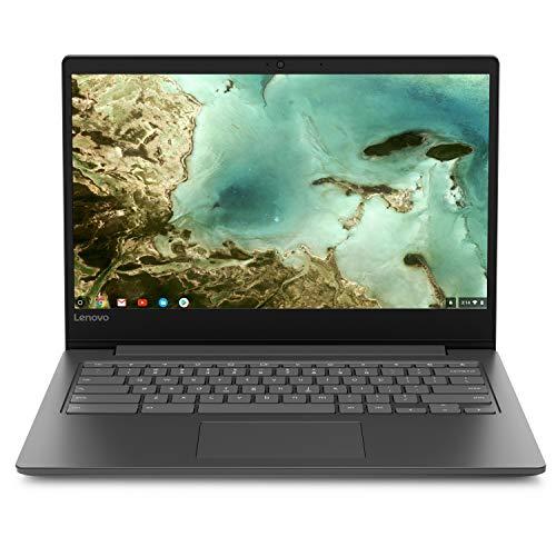 Lenovo Chromebook S330 14' Laptop Computer for Business Student, Quad-Core MediaTek MT8173C 2.1GHz, 4GB RAM, 32GB eMMC, 802.11ac WiFi, Bluetooth 4.1, Webcam, Remote Work, Chrome OS, BROAGE Mousepad