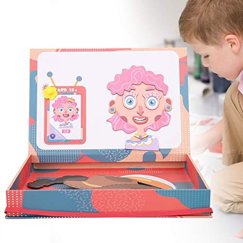 Sdfafrreg Pusselgåva, barnpussel förälder-barn interaktion för resor för hemmet (magnetiskt pussel))