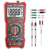 Multimètre Numérique Portable,AoKoZo Automatique Testeur Electrique Professionnel,6000 Compte,TRMS