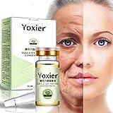 Allbestaye Schnecke Six Peptide Anti-Aging Serum Anti-Falten Hyaluronsäure Gesichtsserum Feuchtigkeitsspendende