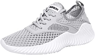 NRUTUP Couple Outdoor Mesh Lace-Up Casual Sports Shoes Run Breathable Sneakers Shoes