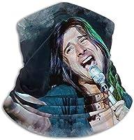 スティーブペリーフリースネックウォーマー襟ユニセックス多機能ネック冬暖かいスカーフマスクスキービーニー帽子