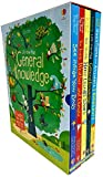 An Usborne Lift -The-Flap General Knowledge 5 Books Collection Box Set with Over 430 Flaps To Lift(General Knowledge,Questions&Answers,How Things Work,See Inside Your Body,See Inside Weather&Climate)
