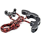 Crossbow Cocking Device Double Handle Crossbows Rope Cocker Aid Cocking String Tool (CT021,Red)