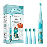 Vekkia Dragon Lord Sonic Rechargeable Kids Electric Toothbrush, 3 Modes With Memory, Fun & Easy Cleaning,...
