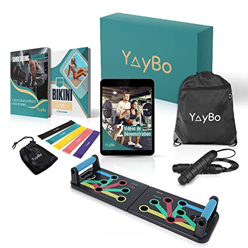 🤸♀️ ALLENAMENTO COMPLETO: Schiena, spalle, petto, braccia, gambe, addominali e glutei: con YayBox puoi allenare tutto il tuo corpo. Individua i gruppi muscolari che desideri rinforzare in base ai tuoi obiettivi personali e adatta i tuoi allenamenti ...