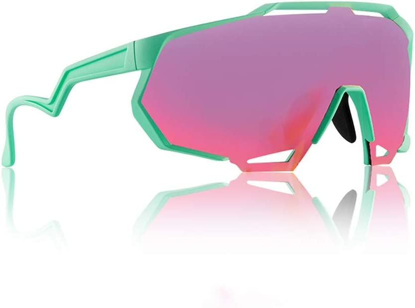 lowest price DALIBAI Cycling Glasses Los Angeles Mall Frame Sports Discoloration Sunglasses
