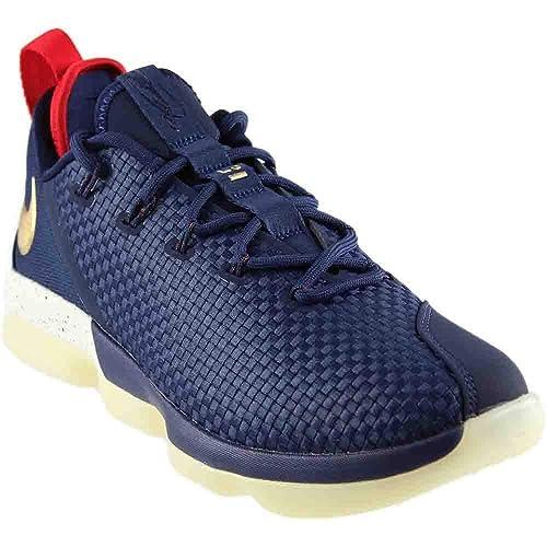 03891349d707c9 Nike Men s Lebron XIV Low Ankle-High Basketball Shoe