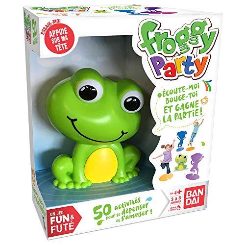 Bandai Funs & futés-Froggy Party société-Jeu d'ambiance interactif pour la Famille et Les Enfants, ZZ06207