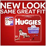 HUGGIES LITTLE MOVERS Diapers, Size 3 (16-28 lb.), 68 Ct. (Packaging May Vary), Baby Diapers for Active Babies
