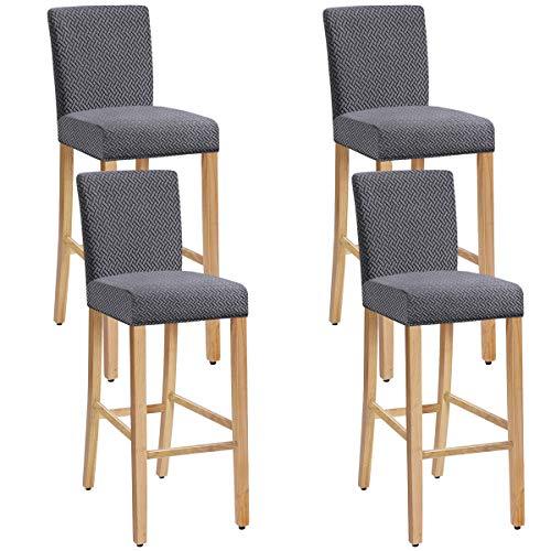 XIANYU Estiramiento Extraíble Lavable Juego de 1/2/4/6 Fundas para sillas de Comedor Fundas para ta