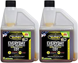 Hot Shot's Secret Everyday Diesel Treatment - EDT, 16 fl. oz, 2 Pack - Treats Up to 800 Gallons
