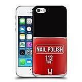 Head Case Designs Feu Vernis À Ongles Coque en Gel Doux Compatible avec Apple iPhone 5 / iPhone 5s...